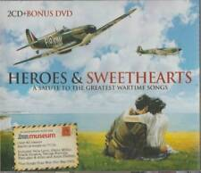 C.D.MUSIC  E266    HEROES & SWEETHEARTS  : A SALUTE TO THE GREAT WARTIME  SONGS
