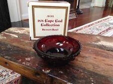 Avon 1876 Cape Cod Collection Dessert Bowl - Boxed