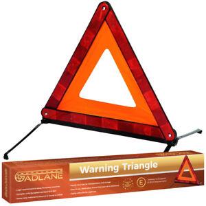 Emergency Safety Warning Triangle Reflective Car Road European Breakdown Travel