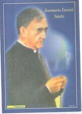 folder postale Jose maria escriva' santo  - emissione 2002