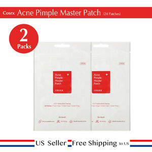 Cosrx Acne Pimple Master Patch (24 patches)  x 2 set  + Free Sample [ US ]