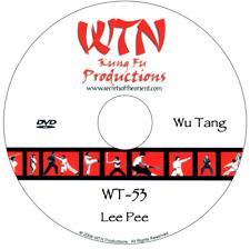 Dvd - Wutang Kung Fu - Lee Pee Form - Babo 8 Step Praying Mantis