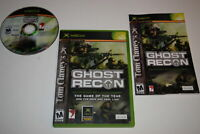 Tom Clancy's Ghost Recon Microsoft Xbox Video Game Complete
