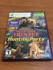 Cabela's Big Game Hunter: Hunting Party (Microsoft Xbox 360, 2011) GAME ONLY!