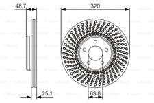 2x Bremsscheibe für Bremsanlage Vorderachse BOSCH 0 986 479 680