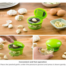 Stainless Press Vegetable Garlic Onion Slicer Chopper Cutter Dicer Tool MW