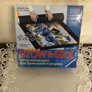 Ravensburger Stow & Go Puzzle. Rollup & Transport your Puzzle. For Adults