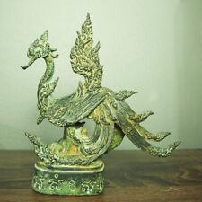"Thai Amulet Magic Swan Statue Samrit 7.3"" Tall PayonHimmapan Kruba Tin BE2559"