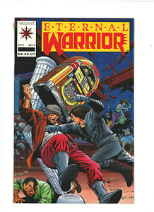 Eternal Warrior #3 NM- 9.2 Valiant Comics 1992 Archer & Armstrong app.