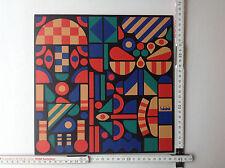 Habakuk Kreativ Kunst Kasten Westphal Magnete 79 Stück Kühlschrankmagnete