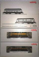 Märklin H0 37276, Diesel-Lok Doppelpack (gealtert) der SNCB, unbespielt in OVP