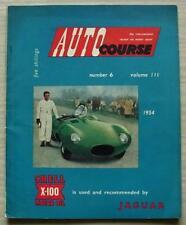 Curso De Auto Revista Marzo 1954 Vol III no 6 Motor Racing revisar GP Italiano