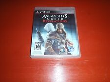 Assassin's Creed: Revelations PS3 (Sony PlayStation 3, 2011) -Complete