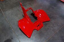 HONDA TRX 450R 450ER 06 - 14 FIGHTING RED PLASTIC REAR FENDER TRX450R TRX450ER