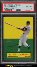 2011 Topps Lineage Stand-Ups Mickey Mantle PSA 8 NM-MT (PWCC)