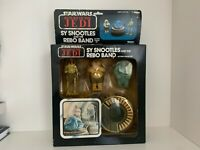 Vintage Kenner 1983 Star Wars ROTJ Sy Snootles Rebo Band Figure Set boxed sealed