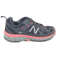 New Balance 610v4 Trail Running Shoes Womens Size 8.5 8 1/2 D Wide Gray Sneakers
