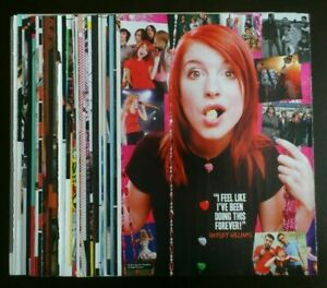Paramore Hayley Williams posters articles clippings lot collection set #2