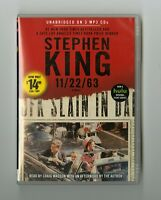 11/22/63 - by Stephen King - MP3CD - Audiobook