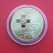Grèce: Euro échantillon 2006, 50 Cents, F # 2160, ESSAI-PATTERN-PROBA, RARE