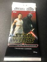 2019 TOPPS STAR WARS THE RISE OF SKYWALKER VALUE PACK Target 16 Card Auto Patch?