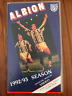 ALBION 1992/93 OFFICIAL MATCH VIDEO VOL 3 WEST BROMWICH FOOTBALL AS NEW PAL VHS