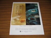 1964 Print Ad Bell Telephone System Colorful Phones in Home