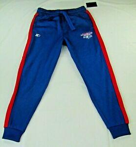 "NFL Starter Men's Royal Blue ""Thursday Night Gridiron"" Fleece Sweat Pants"