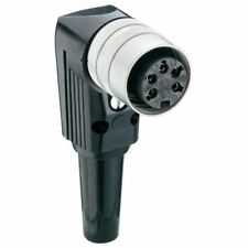 Lumberg WKV 30 3 Broches DIN Prise femelle IEC 60130-9 angle droit Câble montage