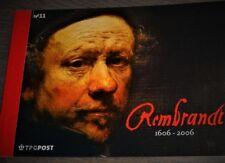 NVPH - PR11 - Prestigeboekje - Rembrandt 1606 - 2006 - waarin postzegelvelletjes
