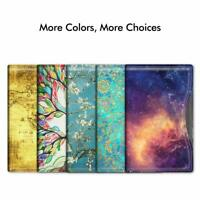 Passport Holder Slim Vegan Leather RFID Blocking Travel Wallet Sleeve Case Cover