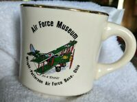 Vintage Air Force Museum Wright Patterson Base Ohio JN 4 Jenny Mug USA