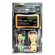 Battery Saver 36 Volt Battery Maintainer, Charger & PULSE Cleaner (50 Watt)