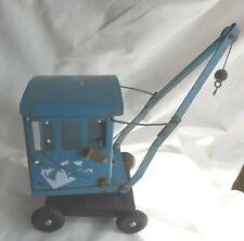 Rare blue Triang vintage crane