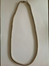 Bijou fantaisie années 50 / 60: collier en métal VINTAGE