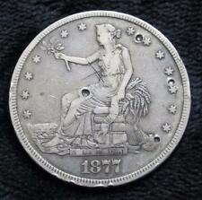 1877 Trade Dollar * Great Details * Clear Date * Full Motto * 140 Years Old