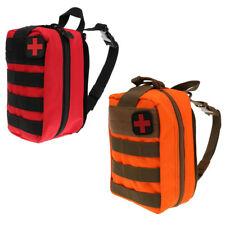 2pcs/Set Tactical MOLLE EMT Pouch Medic EMS Paramedic First Aid Bag + Patch