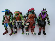 Playmates Teenage Mutant Ninja Turtles TMNT 2014 Movie 4pcs Turtles New Loose