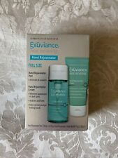 Exuviance Age Reverse Hand Rejuventor Set:Hand Rejuventor Peel & Cream New Boxed