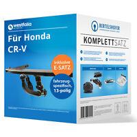 Anhängerkupplung abn u.13pol sp. E-Satz für HONDA CR-V IV Typ RM/RE 12- AHK