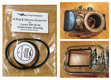 Joint torique de rechange et kit de graisse de silicone pour Canon wp-dc26 Plongée Caisson
