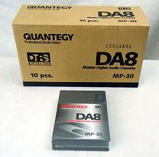 Quantegy DA8 MP-30 Digital Audio Cassette Box of 10 - New