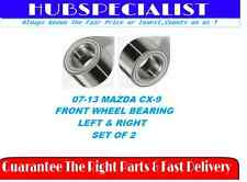 2007-2013 MAZDA CX-9-FRONT WHEEL HUB BEARING PAIR NEW FAST RECEIVE  2-3 DAYS