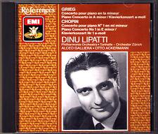 Dinu LIPATTI: GRIEG CHOPIN Piano Concerto GALLIERA ACKERMANN CD Klavierkonzerte