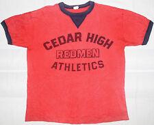 Rare Vintage Cheswick Sugar Cane Cedar High Redman Athletic Toyo Co. T-Shirt