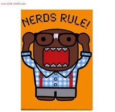Domo-Kun Magnet/Nerd Geek Refrigerator Magnet-lol gift-Nerds Rule! Gag gift-new