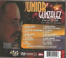DVD JUNIOR GONZALEZ LIVE AT ISLA  MEDELLIN COLOMBIA