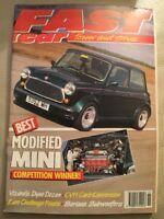 Fast Car Magazine - November 1991 - Modified Mini
