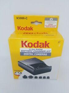 Kodak Li-Ion Rapid Battery Charger Kit - Model K5000 - New.