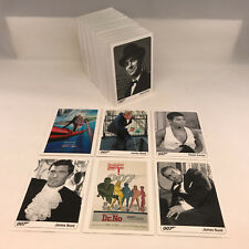 THE COMPLETE JAMES BOND (RA/2007) Complete 189 Card Set DR. NO to CASINO ROYALE!